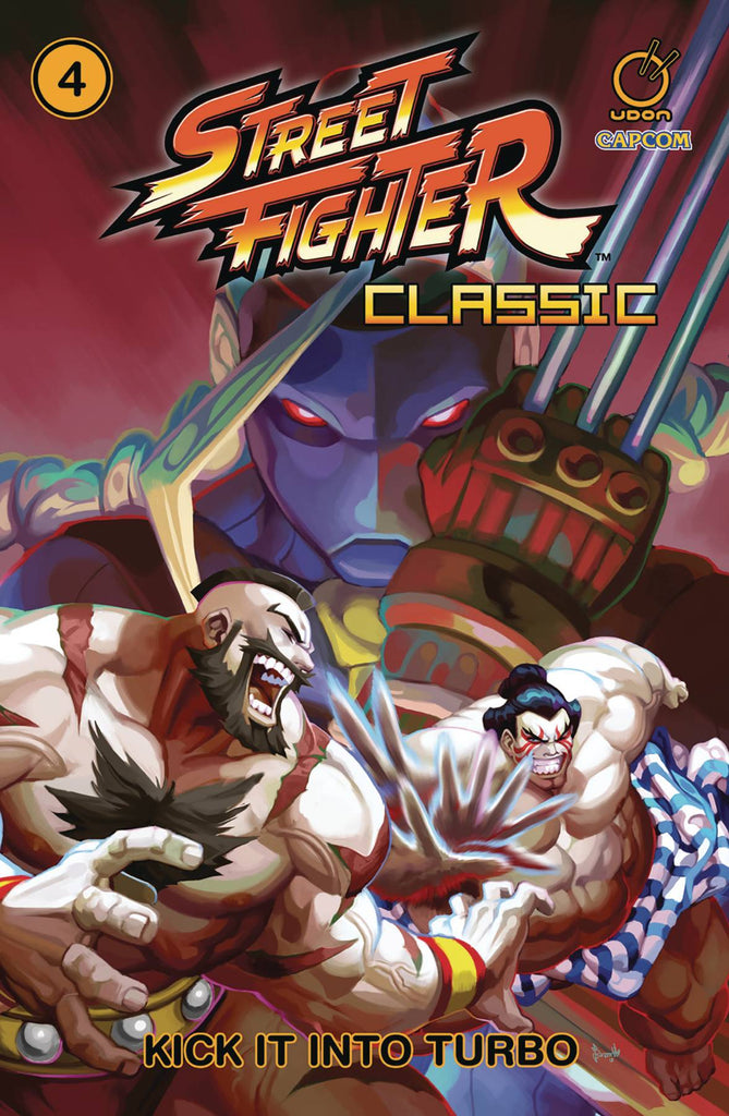 Street Fighter Classic TP Vol 4