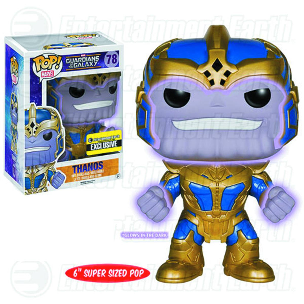 EE Exc POP Marvel MCU - Thanos (GID)