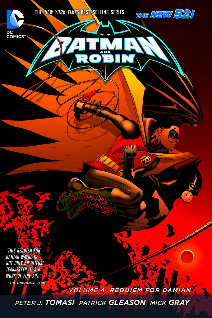 Batman & Robin Tp Vol 04 Requiem For Damon (N52)