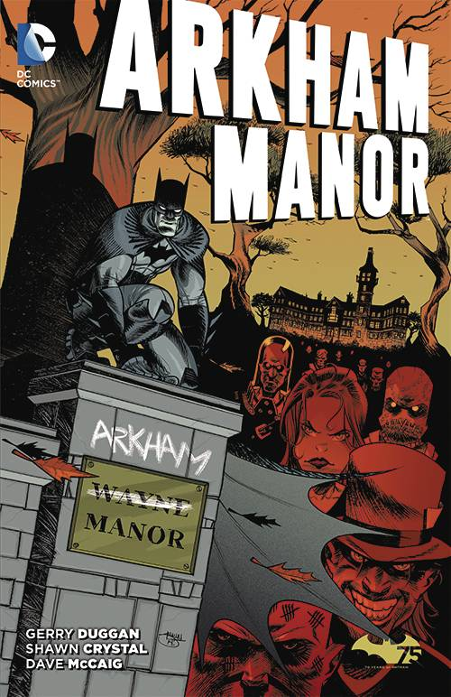 Arkham Manor TP Vol 01