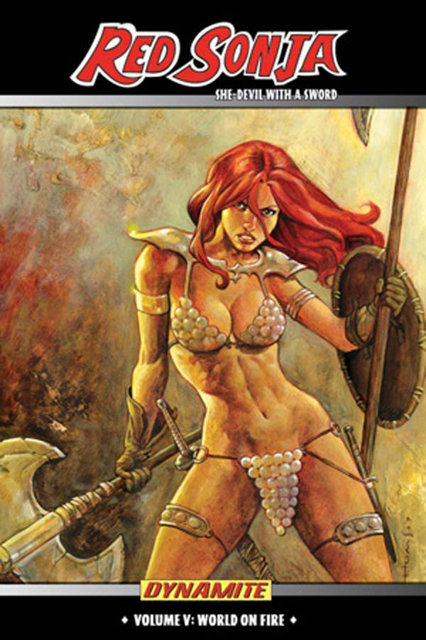 Red Sonja She Devil TP Vol 05 World On Fire