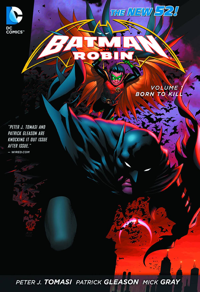 Batman & Robin TP Vol 01 Born To Kill (N52)