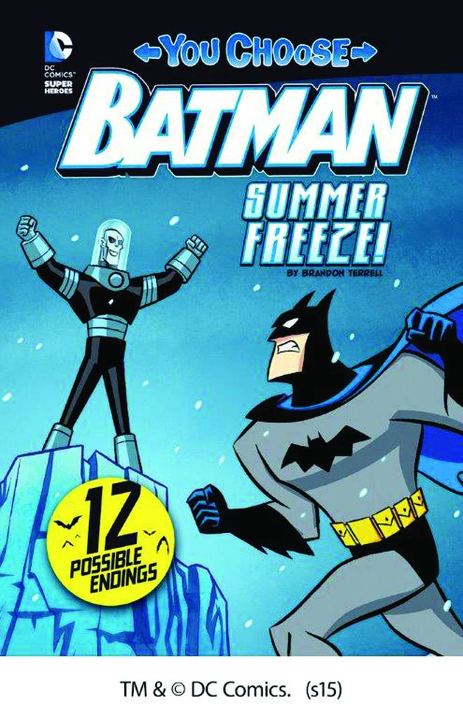 Batman You Choose Yr Stories Summer Freeze