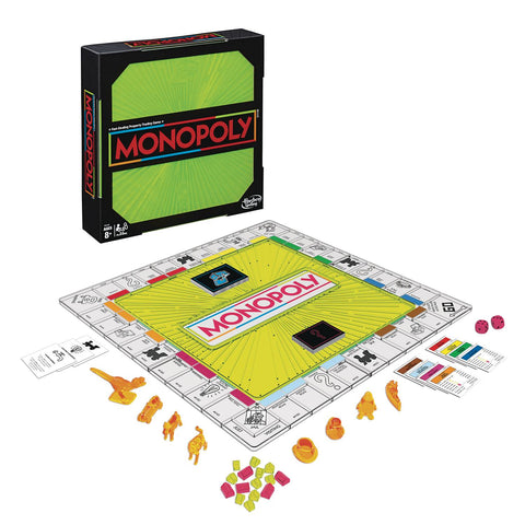 MONOPOLY NEON POP EDITION BOARD GAME CS (Net)