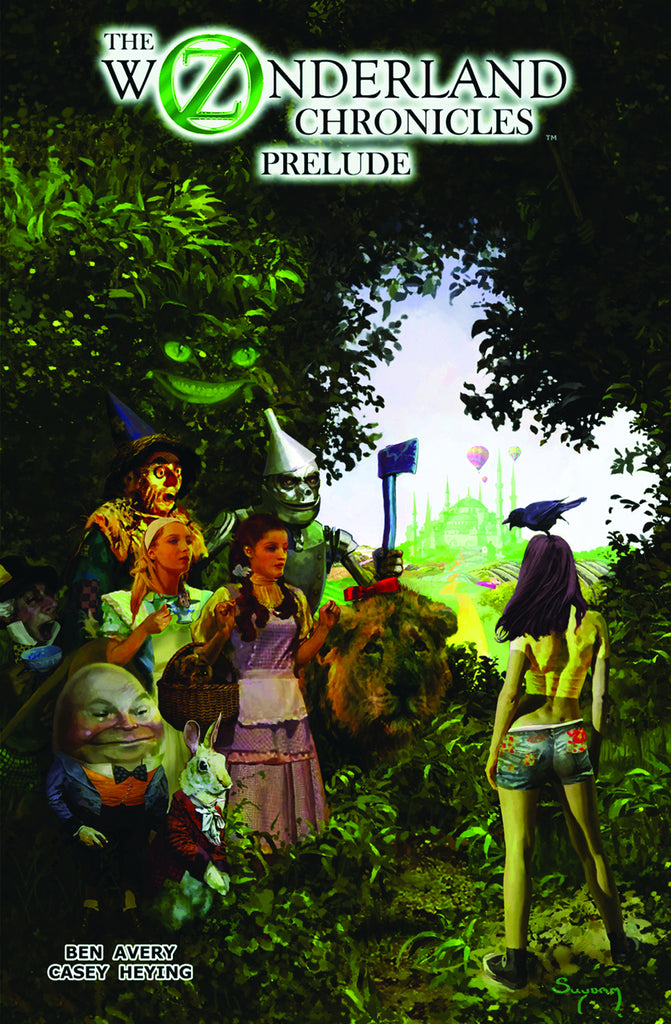 Oz Wonderland Chronicles Tp Prelude