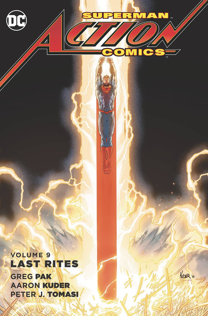 Superman Action Comics TP (N52) Vol 09 Last Rites