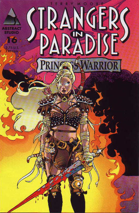 Strangers in Paradise (Vol 3 1996) #16 CVR B Tambi Cover