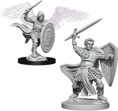 WZK DnD Mini - Aasimar Male Paladin