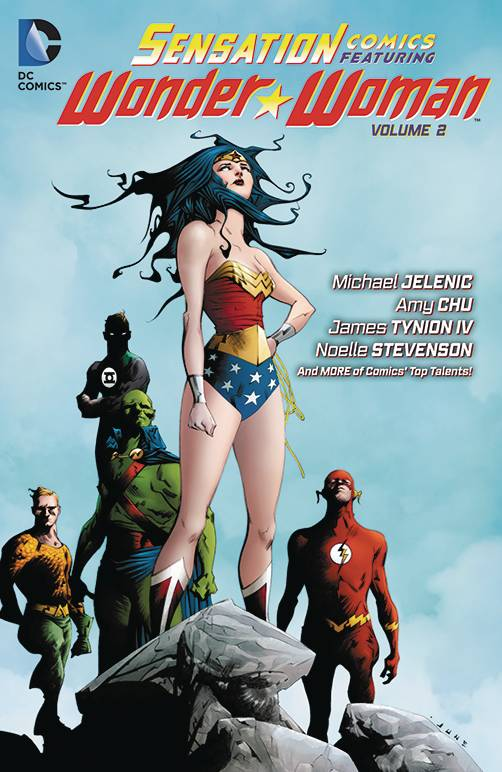 Sensation Comics Featuring Wonder Woman TP Vol 02