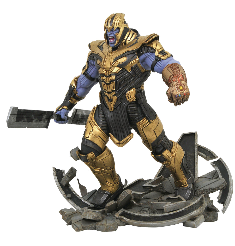Marvel Milestones - MCU A4 Thanos Armored
