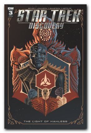 Star Trek Discovery The Light of Kahless #3 1/10 George Caltsoudas Variant