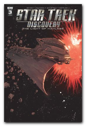 Star Trek: Discovery The Light of Kahless #3 1/25 Declan Shalvey & Jordie Bellaire Ships of the Line Variant