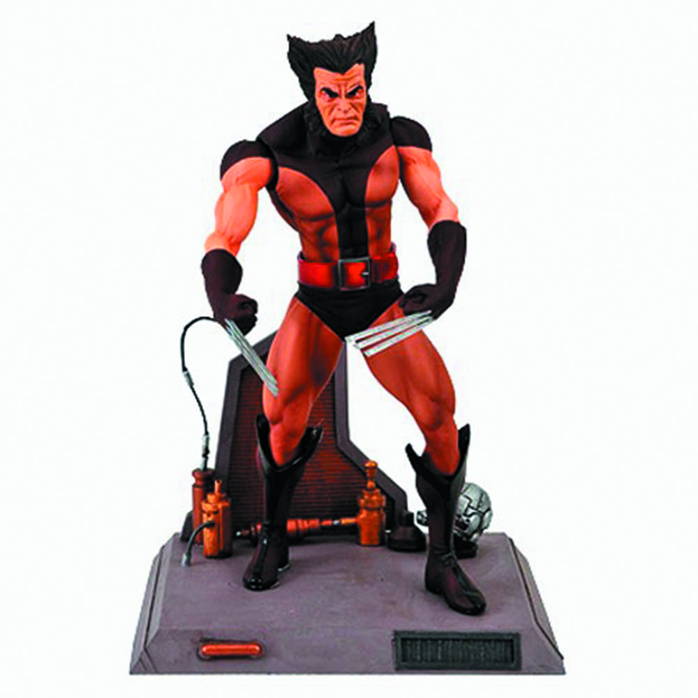 MARVEL SELECT - Brown Wolverine Unmasked