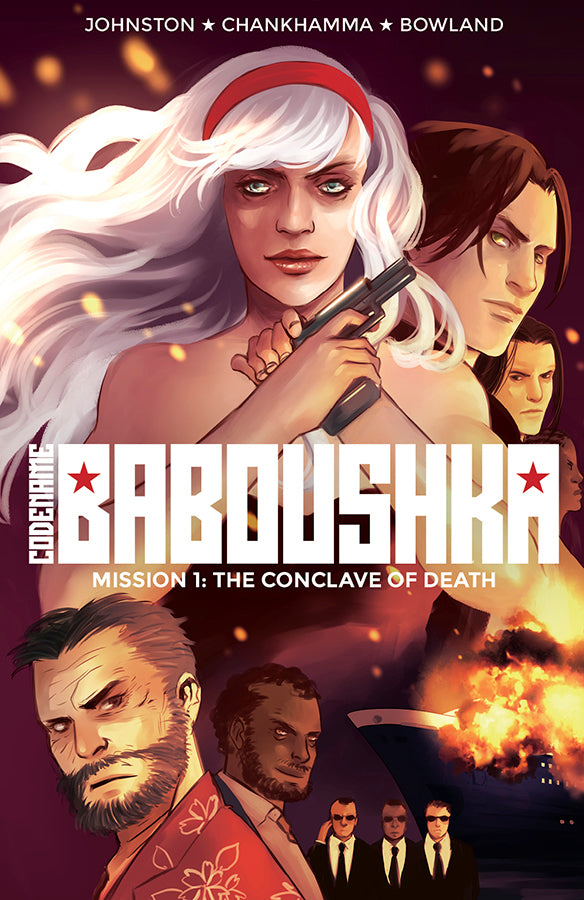 Codename Baboushka TP Vol 01 Conclave Of Death