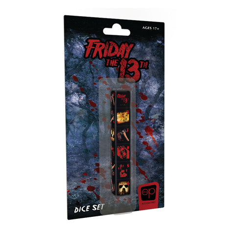 Dice Set - Friday the 13th