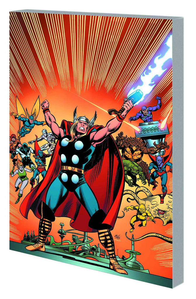 Thor Gods And Guardians Of Galaxy TP