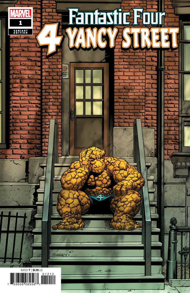 Fantastic Four 4 Yancy Street #1 1/50 Tom Raney Thing Variant