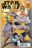 Star Wars #1 Dynamic Forces Exclusive Greg Land Variant - Signed & Numbered - COA
