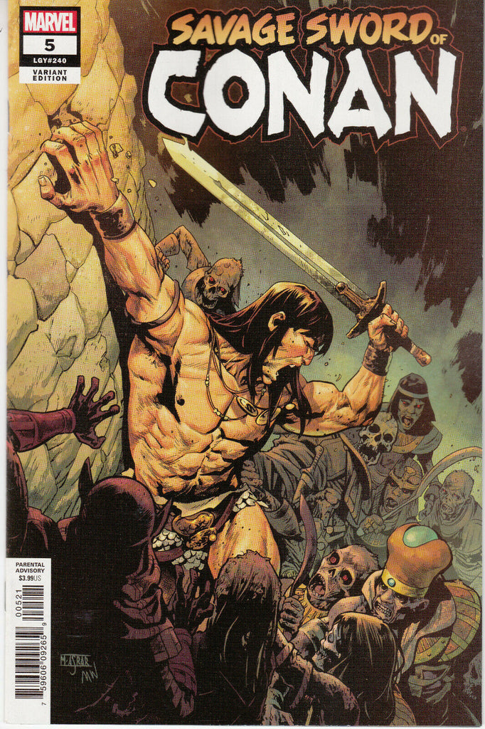 Savage Sword of Conan #5 1/25 Mahmud A. Asrar Variant