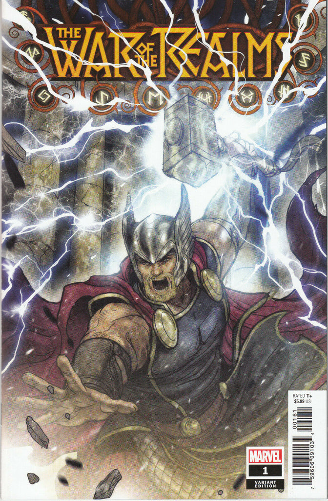 War of the Realms #1 1/50 Sana Takeda Thor Variant