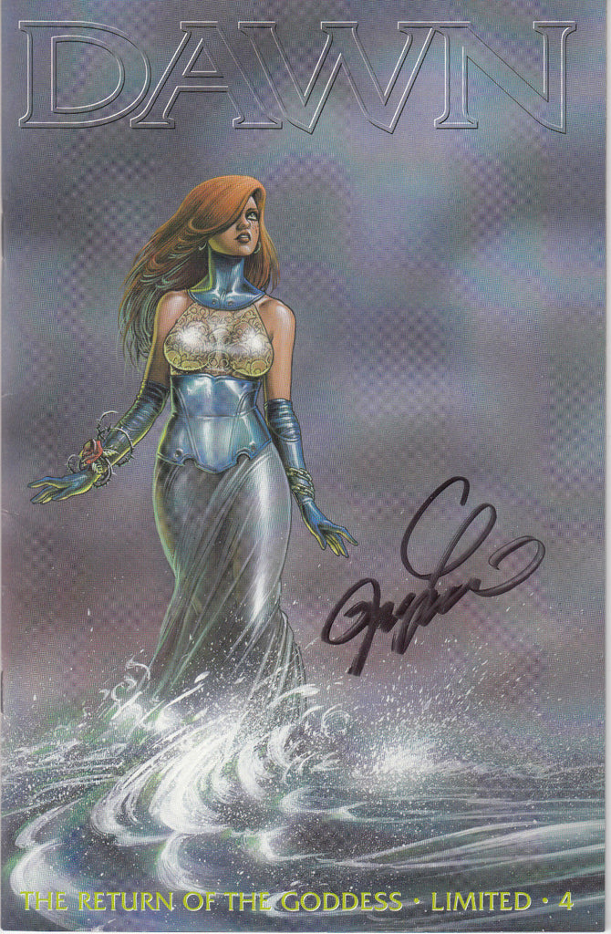 Dawn The Return of the Goddess #4 Limited Edition - Signed - COA