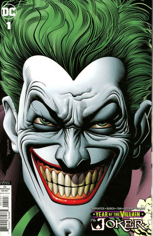 The Joker Year of the Villain #1 Brian Bolland Retailer Gift Variant