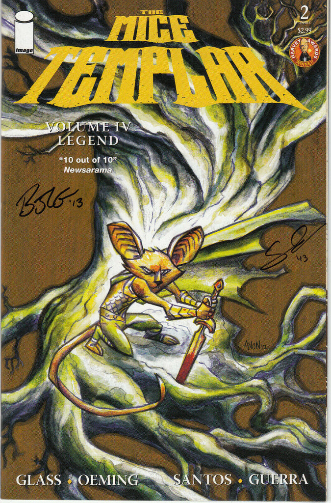 The Mice Templar Volume IV Legend #2 Cover A (Image, 2013) - Signed