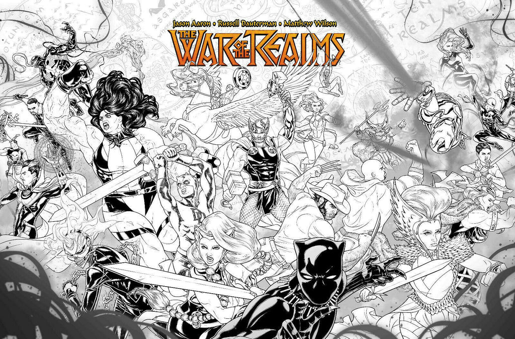 War of the Realms #1 1/10 Russell Dauterman Concept Variant