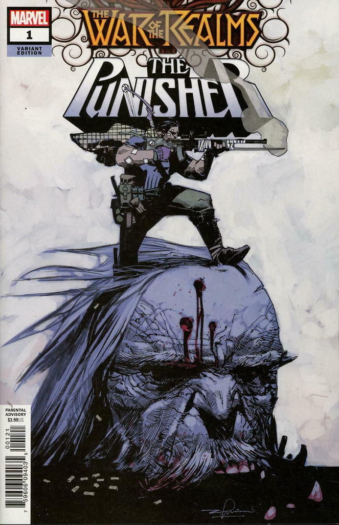 War of the Realms The Punisher #1 1/25 Gerardo Zaffino Variant