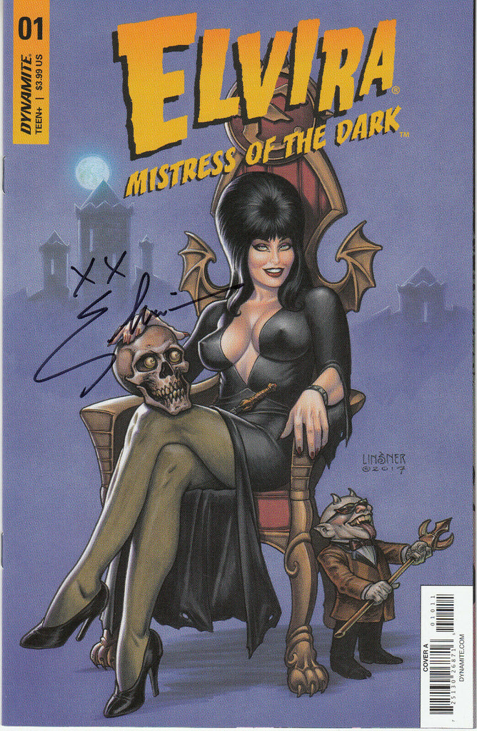 Elvira, Mistress of the Dark #1 1/50 Joseph Michael Linsner Cover - Signed - COA