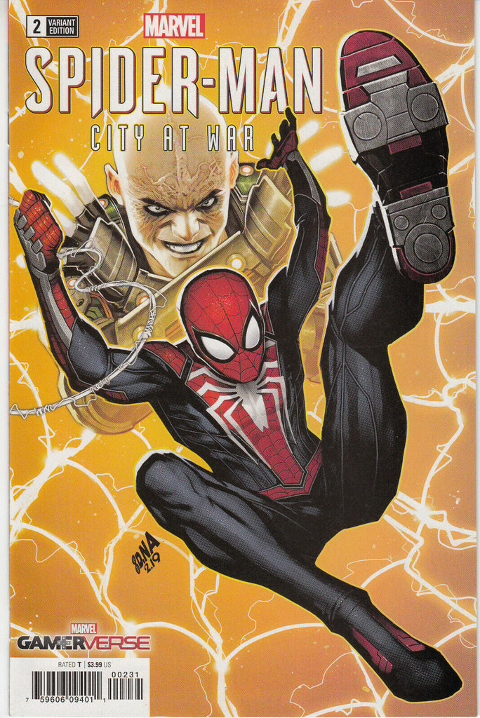 Marvel Gamerverse Spider-Man City At War #2 1/50 David Nakayama Variant