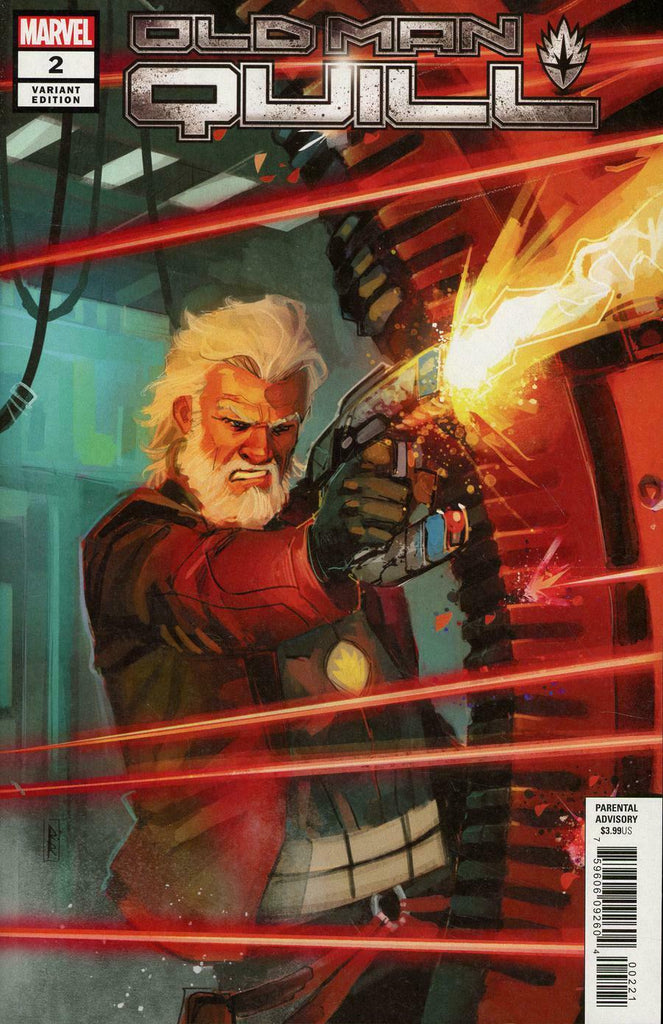 Old Man Quill #2 1/25 Rod Reis Variant