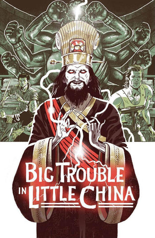 Big Trouble In Little China Old Man Jack #1 1/5 Sam Bosma Movie Poster Variant
