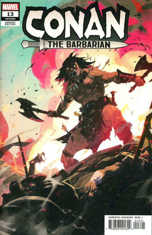 Conan the Barbarian #13 1/25 Toni Infante Variant