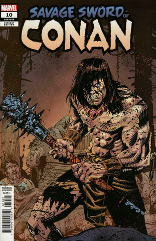 Savage Sword of Conan #10 1/25 John McCrea Variant