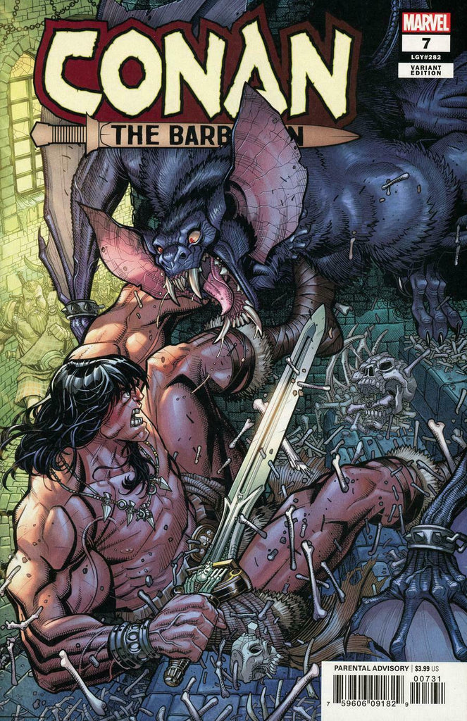 Conan the Barbarian #7 1/25 Nick Bradshaw Variant