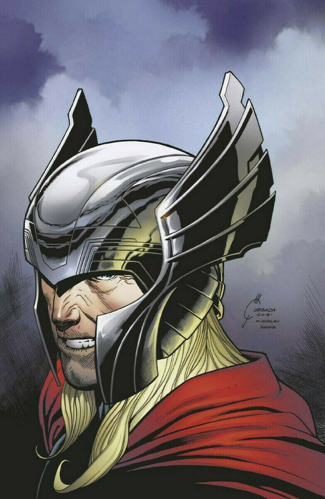 War of the Realms #1 1/100 Joe Quesada Virgin Art Thor Variant
