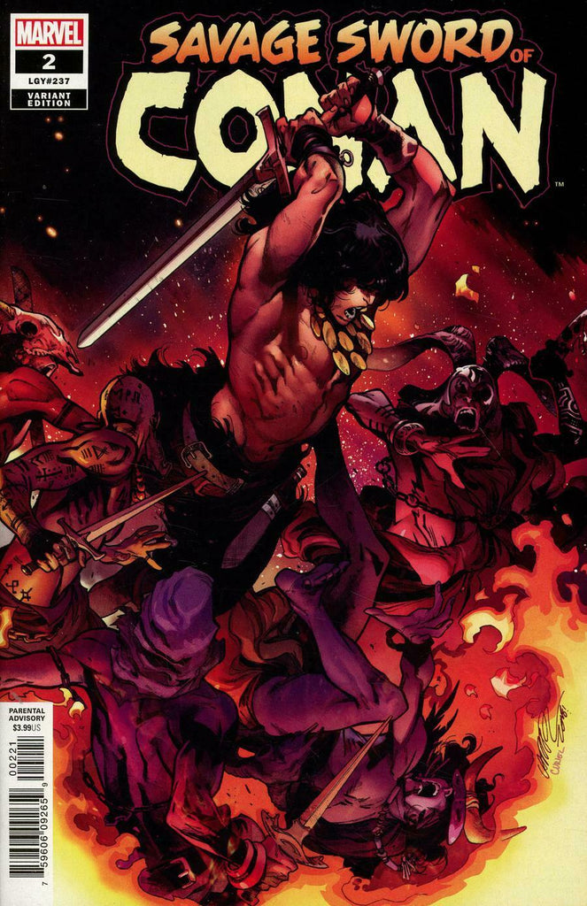 Savage Sword of Conan #2 1/25 Pepe Larraz Variant