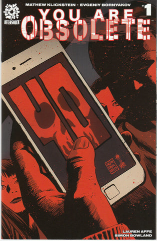 You Are Obsolete #1 1/10 Francesco Francavilla Variant