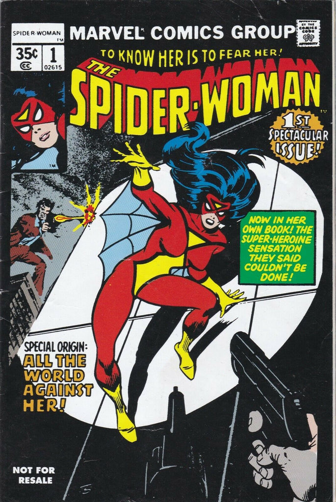 Spider-Woman (Vol 1 2006) #1 CVR A Marvel Legends Reprint