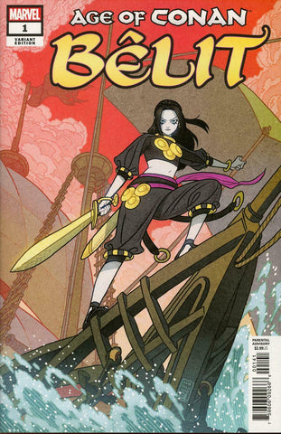 Age of Conan Belit #1 1/10 Afu Chan Variant