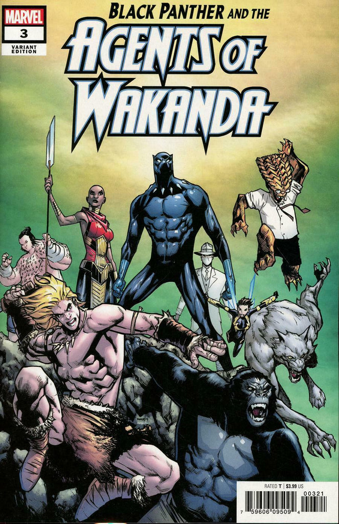 Black Panther and the Agents of Wakanda #3 1/25 Humberto Ramos Variant