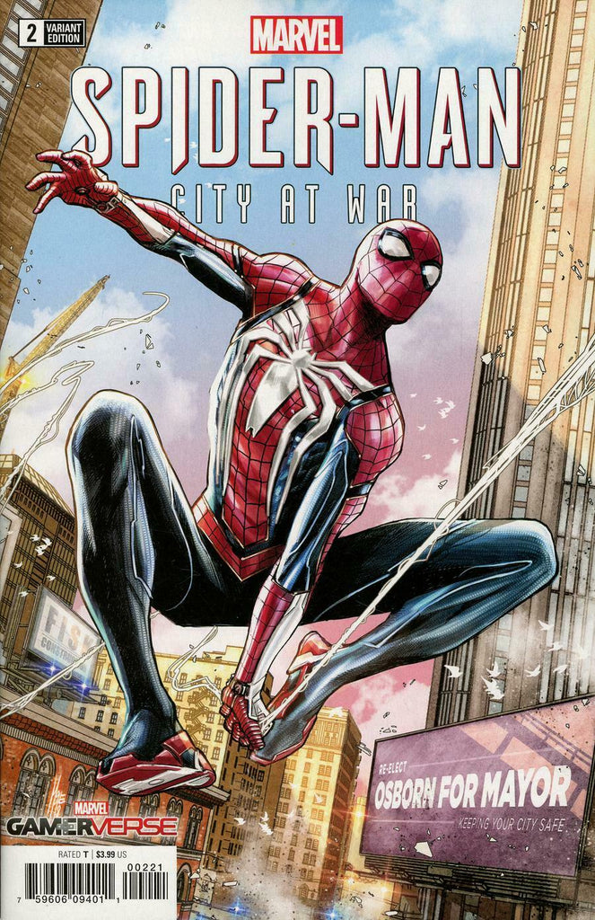 Marvel Gamerverse Spider-Man City At War #2 1/25 Marco Checchetto Variant