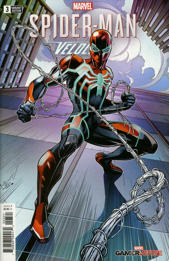 Marvel Gamerverse Spider-Man Velocity #3 1/25 Mark Bagley Variant