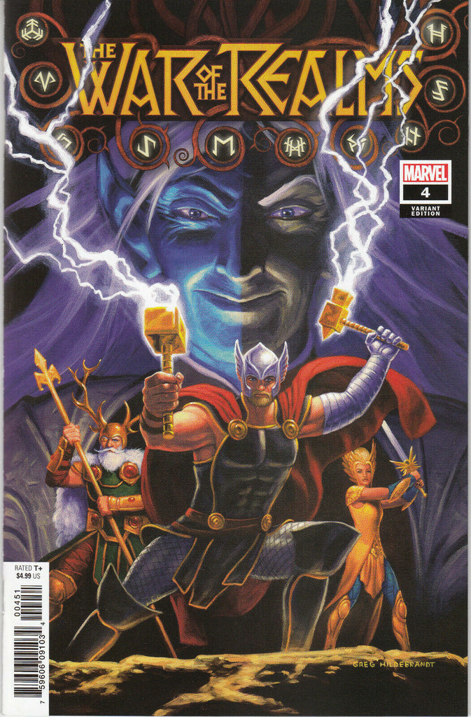 War of the Realms #4 1/50 Greg Hildebrandt Variant