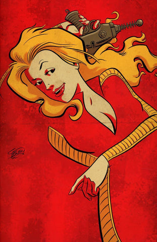 Barbarella #9 1/20 Scott Chantler Virgin Art Variant