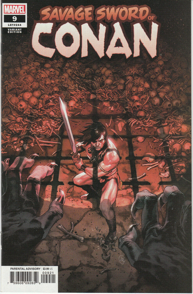 Savage Sword of Conan #9 1/25 Yasmin Putri Variant