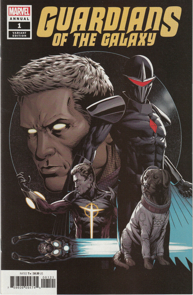Guardians of the Galaxy Annual #1 1/50 John Tyler Christopher Variant