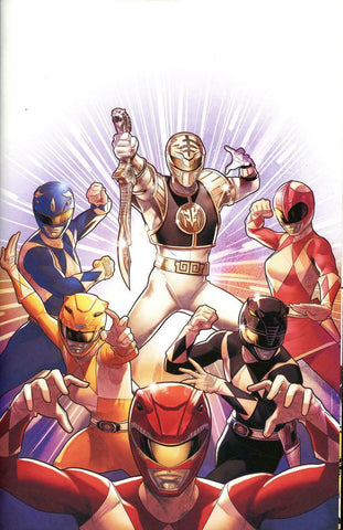 Mighty Morphin Power Rangers #40 1/40 Jamal Campbell Virgin Variant