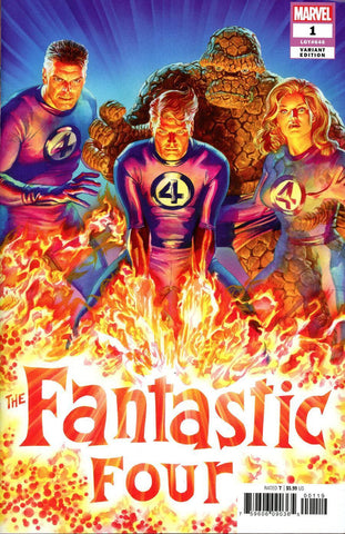 Fantastic Four #1 1/50 Alex Ross Variant